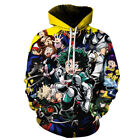 Boku no My Hero Academia 3D Hoodie Casual Sweater Sweatshirt Pullover Jacket