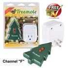 TREEMOTE Wireless Remote Switch for Christmas Tree Lights, Fans, String Lights