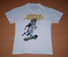 Vintage 1987 ANTHRAX State of Euphoria Tour Concert promo M L Size rare T-shirt  image