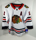 New Youth Chicago Blackhawks Duncan Keith 2 Outerstuff Prem White Jersey L XL