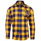 Golden State Warriors NBA Checkered Mens Long Sleeve Flannel Shirt on eBay