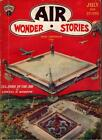Air Wonder Stories Jul 1929 1st Issue; Paul Cover image