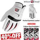 MENS GOLF GLOVES WILSON PRO FEEL GOLF GLOVES SYNTHETIC LEATHER ** SALE PRICE **