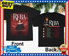 Reba McEntire T-Shirt Live In Concert 2020 Tour Dates Shirt Size M-3XL image