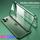 Kyпить 360° Case for iPhone 11 Pro Max XS XR X Magnetic Adsorption Tempered Glass Cover на еВаy.соm