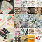 Cartoon Paper Stickers Washi Kawaii Stationery Deco DIY Scrapbooking Sticker Set