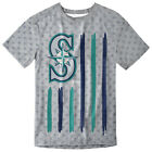 Seattle Mariners Big Logo Flag Tee by Forever Collectibles on Ebay