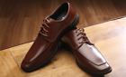 Monoco Brown Lace-Up Dress Shoes