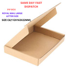 C6 A6 SIZE BOX ROYAL MAIL LARGE LETTER STRONG CARDBOARD SHIPPING POSTAL PIP BOX