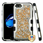 For iPhone 7 / 8 TUFF Vivid Hybrid Shockproof Armor Phone Protector Case Cover