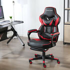 Gaming Chair Racing Style PU Leather Office Recliner Computer Seat Desk Swivel