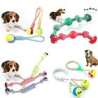 FJ- PUPPY FAVORITE DOG TOUGH STRONG CHEW KNOT TEDDY TOY PET HEALTHY TEETH ROPE F