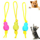FJ- FT- ALS_ KF_ Pet Dog Cat Puppy Rope Ball Molar Knot Chewing Bite-resistant P