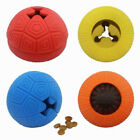 FJ- Pet Dogs Puppy Funny Rubber Ball Teeth Molar Clean Bite Play Interactive Toy