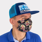 FACE MASK with Nose Clip Sport Fashion Design Fabric Cotton Made USA