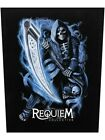 Requiem Collective Patch Death Before Dawn Backpatch Black 29.5x36cm $13.21 USD on eBay