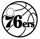 nba048 Philadelphia 76ers Die Cut Vinyl Graphic Decal Sticker NBA Basketball on eBay