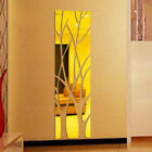 Removable Tree Wall Srickers Modern Mirror Style Mural Art Decal Home Decoration