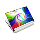 """Peacock Feathers -2 Vinyl Tablet Sticker Skin Decal Cover For 9""""-10.2"""" Laptop PC"""