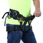 Adjustable Safety Sitting Harness for Outdoor Climbing Tree Arborist Fire Rescue