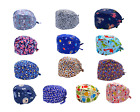 Ship from USA - Cotton Surgical Scrub Cap Hat Doctor Nurse Kitchen w/ SWEATBAND