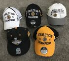 NEW 2011 BOSTON BRUINS OSFA STANLEY CUP HATS  6 TIME CHAMPIONS YOU CHOOSE