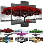 5PCS Set Modern Wall Art Tree Flower Large Canvas Painting Picture Abstract