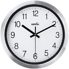 Silent Wall Clock 12 Inch Battery Operated Non-Ticking, Large Decorative Quiet C