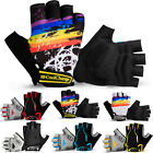 Half Finger Short Cycling Gloves Shockproof Sports Motorcycle Bicycle Racing