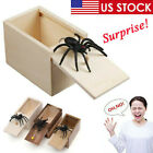 Wooden Prank Spider Scare Box Hidden In Case Trick Play Jokes Scary Gag Toys Us