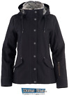 Noble Equestrian Women's Stable Ready Canvas Jacket Black