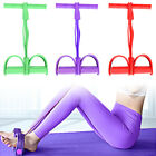 4 Tubes Resistance Band Pedal Elastic Multi-Function Fitness Tension Pull Rope image