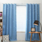 Window Curtains Blackout Room Thermal Insulated Kids Boy Girls Bedroom Decor US