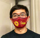 NEW WASHABLE, SNUG FIT SCUBA FABRIC FACE MASK WITH NCAA COLLEGE TEAMS LOGO