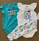 Gymboree Cactus Butterfly Bodysuit Outfit Set