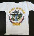 Reprint Status Quo Shirt 1986 Tour Short Sleeve White Men T-Shir F793 image