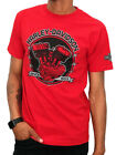 Harley-Davidson Motor Co Mens Flathead Shock Engine Red Short Sleeve T-Shirt $14.99 USD on eBay