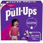 Pull-Ups Girls' Learning Designs Training Pants, 12-24M, 112 Ct