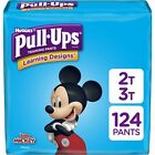 Pull-Ups Learning Designs Boys' Training Pants, 2T-3T, 124 Ct, One Month Supply
