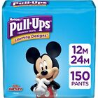 Pull-Ups Learning Designs Boys' Training Pants, 12-24M, 150 Ct, One Month Supply