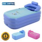 Inflatable Portable Bath Tub Adult PVC Foldable Free Standing Bathtub for Adult