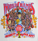Vintage Detroit Pistons NBA Champions Caricature T-Shirt New S to 5XL on eBay