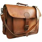 Mens-Genuine-Vintage-Leather-Satchel-Messenger-Man-Sholder-Laptop-Briefcase-Bag