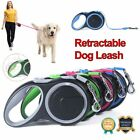 8M Dog Leads Retractable Long Extending Tape Cord Strong Pet Training Max 50KG