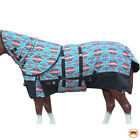 V165- 66- 84 Hilason 1200D Winter Horse Sheet Neck Cover Belly Wrap Turquoise U-