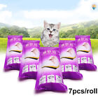 7Pcs/Roll Drawstring Thick Pet Cats Litter Pan Bag Liner Pouch Cleaning Eager
