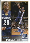 2013-14 Panini Stickers Memphis Grizzlies Basketball Card #179 Quincy Pondexter on eBay