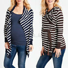 Maternity Women Loose Tops Long Sleeve Coat Cardigan Pregnancy Casual Outerwear
