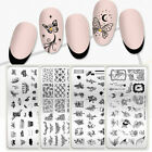 BORN PRETTY Christmas Pattern Stamping Plate Flower Nail Art Image Stamp Stencil