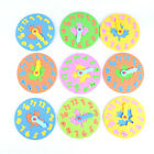 EVA Foam Number Clock Time Jigsaw Puzzle  Kids Learning Toy Free Shipping ha